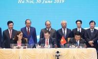 L'accord de libre-échange Vietnam-UE : le message positif de Bruxelles