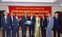 Rencontre entre le Premier ministre et la diaspora vietnamienne au Japon