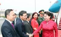 Nguyên Thi Kim Ngân à Pékin