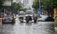 Le typhon Wipha frappe la province chinoise de Hainan