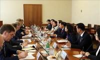 Une délégation du ministère de l'Intérieur en visite en Russie