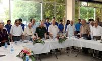 Rencontre des anciens jeunes pour le salut national de la citadelle Hoàng Diêu