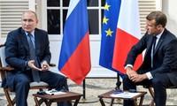 Conférence de presse de Vladimir Poutine et Emmanuel Macron