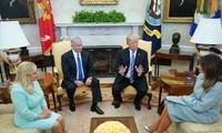 """Trump affirme qu' """"aucun président"""" américain n'a autant aidé Israël que lui"""