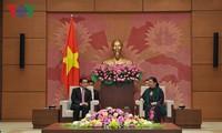 NA Vice Chair receives Laos–Vietnam Friendship Association