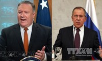Lavrov, Pompeo discuss international issues