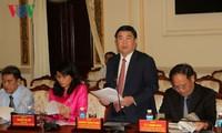Ouverture de la 21ème conférence annuelle de l'Association des parcs scientifiques d'Asie