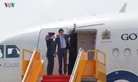 Justin Trudeau quitte Ho Chi Minh-ville pour Danang