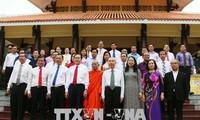 Trân Thanh Mân rend hommage au président Tôn Duc Thang