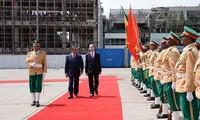 Le président Trân Dai Quang entame sa visite d'État en Éthiopie