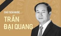 La population déplore le décès du président Trân Dai Quang