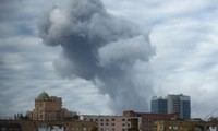 Ukraine: Powerful explosion rocks Donetsk