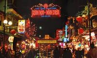 Pedestrian streets & Night market in Hanoi