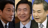 Japan, RoK, China foreign ministers to meet in Seoul