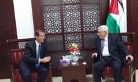 Palestinian President meets Israeli opposition leader