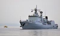 Chinese vessels sailing off Alaska