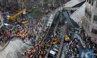 At least 20 killed in flyover collapse in eastern India