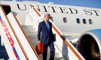 US Secretary of State John Kerry visits Moscow