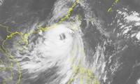 Storm Nida strengthened in the East Sea