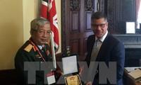 Vietnam, UK to boost defense ties