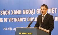 Diplomatic bluebook 2015 makes debut