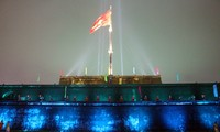 Thua Thien-Hue's Flag Tower lighted during Tet