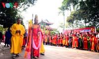 Nom village's festival in Hung Yen province