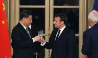 Macron calls for fair, balanced trade with China