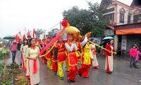 Whale worshiping ritual held in Hai Phong