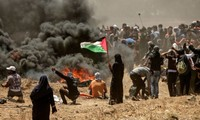 Hundreds of Palestinians casualties reported during protests in Gaza