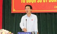 Senior leaders meet voters in Dong Nai, Bac Ninh