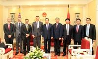 越南公安部长苏林会见美国和澳大利亚驻越南大使