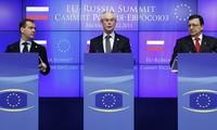 Russland und die EU verstärken ihre strategische Partnerschaft