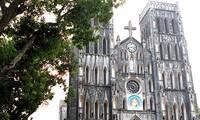 Die Hanoier Kathedrale - ein altertümliches Bauwerk der Hauptstadt
