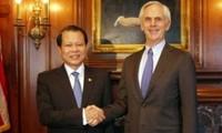 Vize-Premierminister Vu Van Ninh beendet seinen Besuch in den USA