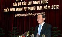 Leiter des Ausschusses für Aufklärung und Bildung tagt in Quang Ninh