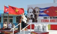KPV-Generalsekretär Nguyen Phu Trong besucht Projekt zum Reisanbau in Kuba