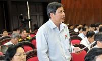 Das Parlament tagt über das Gesetz zur Verwaltung der Steuern