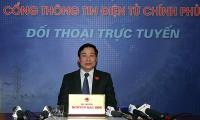 Informationsminister führt einen Online-Dialog mit der Bevölkerung