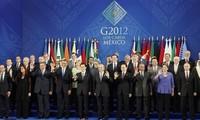 G20-Gipfeltreffen im mexikanischen Los Cabos eröffnet