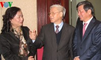 KPV-Generalsekretär besucht das Planungs- und Investitionsministerium