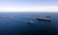 US-Flugzeugträger ist in Südkorea für Manöver eingetroffen
