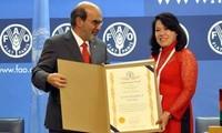 FAO erkennt die Errungenschaften Vietnams bei Armutsbekämpfung