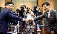 Nordkorea und Südkorea setzen die Verhandlungen über Keasong fort