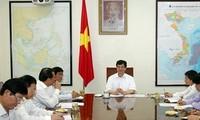Premierminister Nguyen Tan Dung tagt mit Verwalter der Provinz Hai Duong