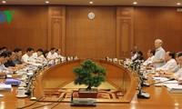 Parteisekretariat tagt mit Parteileitung der Provinz Ha Giang