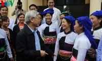 KPV-Generalsekretär Nguyen Phu Trong zu Gast in Phu Tho