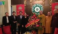 Die Beiträge des buddhistischen Verbands Vietnams zu Wohltätigkeiten gewürdigt