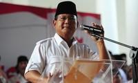 Kandidat Subianto wirft die Manipulation bei Präsidentschaftswahl in Indonesien vor
