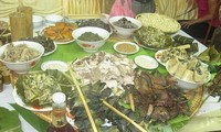 Spezialitäten der Muong in Hoa Binh